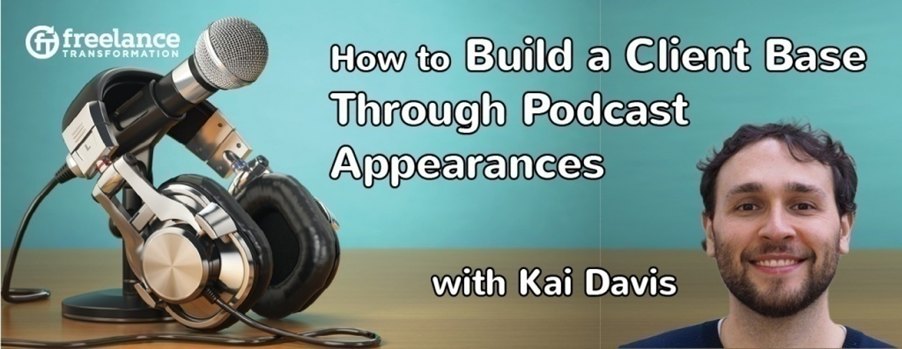 image for post - FT 037: Get Consulting Clients Through Podcast Appearances with Kai Davis