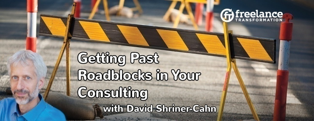image for post - FT 044: Getting Past Roadblocks in Your Consulting with David Shriner-Cahn