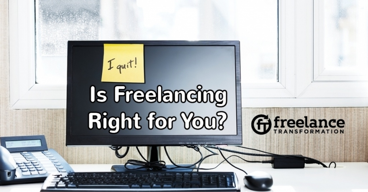 image for post - Is Freelancing Right For You?