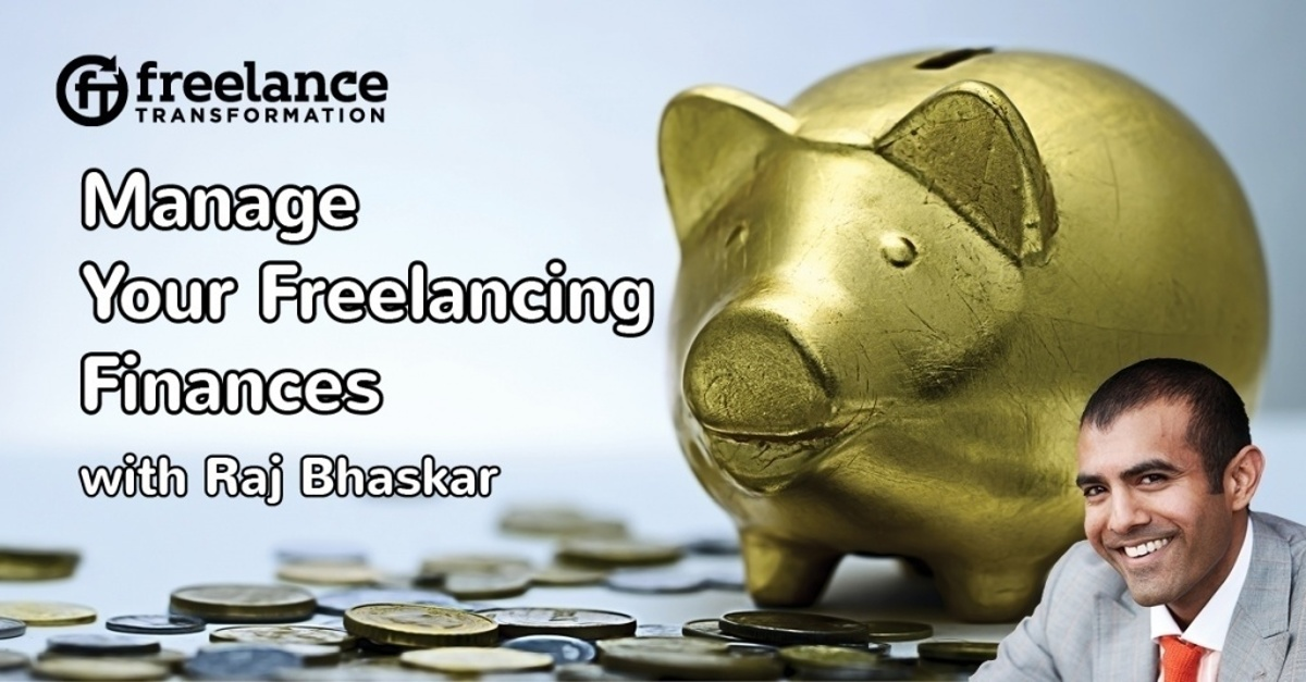 image for post - FT070: Manage Your Freelancing Finances with Raj Bhaskar