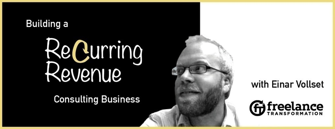 image for post - FT 009: Building a Recurring Revenue Consulting Business with Einar Vollset